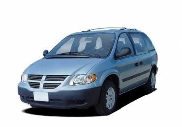Коврики EVA Dodge Caravan IV (2001 - 2007) 2 раздельных сидений (капитанские)