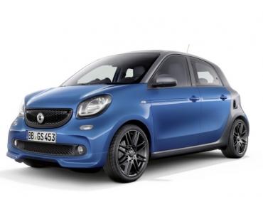 Коврики EVA Smart Forfour II 2014 - 2020