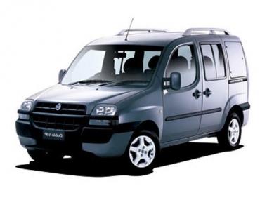 Автомобильные коврики Eva Fiat Doblo 5 мест 2001 - 2005