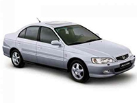 Автомобильные коврики Eva Honda Accord VI Hatchback 1998 - 2002
