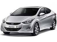 Автомобильные коврики Eva Hyundai Elantra V (Avante) MD 2010 - 2015