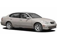 Автомобильные коврики Eva Lexus GS II 1997 – 2004