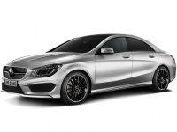 Коврики EVA Mercedes CLA-класс 2013 - 2018