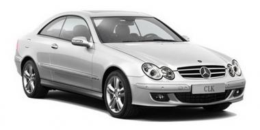 Коврики EVA Mercedes CLK-класс W209 2002 - 2010