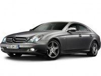 Автомобильные коврики Eva Mercedes CLS-класс (W219) 2004 - 2010