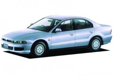 Автомобильные коврики Eva Mitsubishi Galant VIII (правый руль) 1996 - 2006