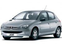 Коврики EVA Peugeot 206 1998 - 2012