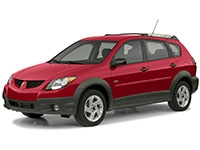 Автомобильные коврики Eva Pontiac Vibe I 2002 - 2008