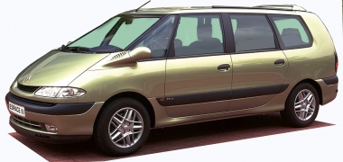 Автомобильные коврики Eva Renault Espace III 1997-2003
