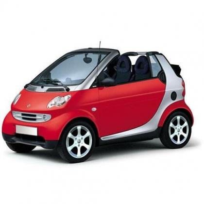 Автомобильные коврики Eva Smart City Coupe с 2002 - 2004