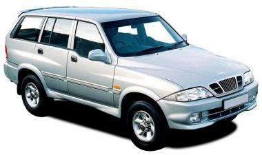 Автомобильные коврики Eva Ssang Yong Musso (Daewoo Musso) 1993 - 2006