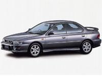 Автомобильные коврики Eva Subaru Impreza I 1992 - 2000