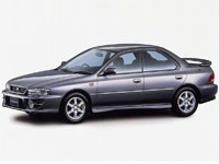 Автомобильные коврики Eva Subaru Impreza I 1992 - 2000 (правый руль)