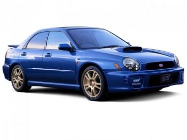 Автомобильные коврики Eva Subaru Impreza II (правый руль) 2000 - 2007