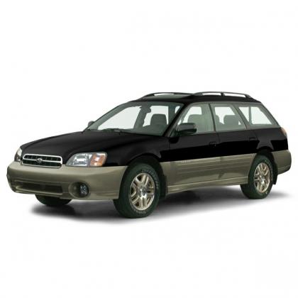 Автомобильные коврики Eva Subaru Outback II 1999 - 2003