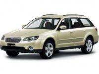 Автомобильные коврики Eva Subaru Outback III (правый руль) 2003 - 2009