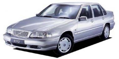 Автомобильные коврики Eva Volvo S70 / V70 1997 - 2000