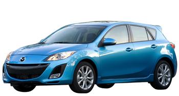 Коврики EVA Mazda Axela (правый руль) 2009 - 2013 (хэчбек)