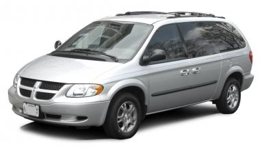 Автомобильные коврики Eva Dodge Caravan IV (2001 - 2007) (задний диван)