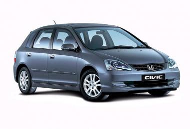 Автомобильные коврики Eva Honda Civic VII (хетчбек) 2001 - 2006
