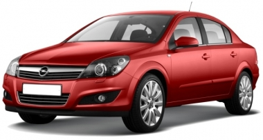 Автомобильные коврики Eva Opel Astra H (седан) 2004 - 2012