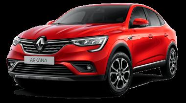 Автомобильные коврики Eva Renault Arkana 2019 -