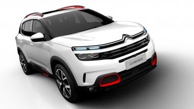 Автомобильные коврики Eva Citroen C5 Aircross I 2018 2020
