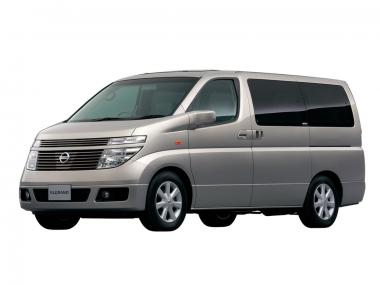 Автомобильные коврики Eva Nissan Elgrand II (E51) 2002-2010 (правый руль)