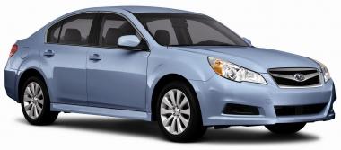 Автомобильные коврики Eva Subaru Legacy V 2009 - 2014 правый руль