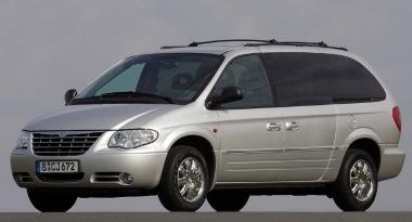 Автомобильные коврики Eva Chrysler Voyager IV 2001 - 2004