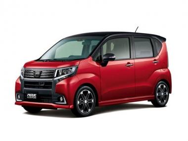 Автомобильные коврики Eva Daihatsu Move VI 2012-2020