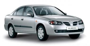 Автомобильные коврики Eva Nissan Almera (N16) 2000 - 2006 (седан)