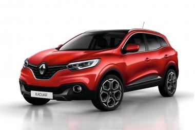 Коврики EVA Renault Kadjar I 2015 - наст. время